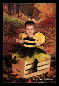 Baby Bee Halloween photo