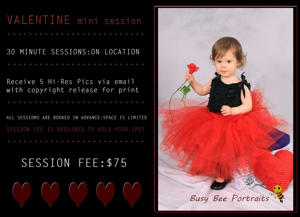 Las Vegas Valentine Mini Sessions by Busy Bee Portraits