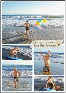 Childrens photo session at Hendry's Beach in Santa Barbara