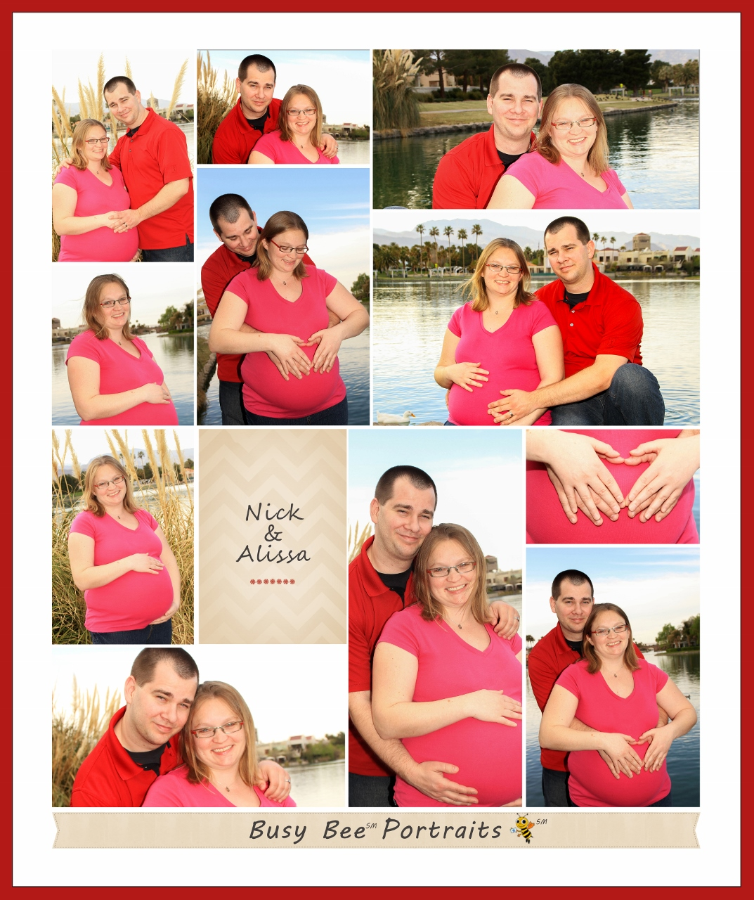 Nick & Alissa Maternity Photos, Las Vegas NV.