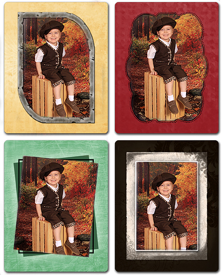 Busy Bee Photo Magnets
