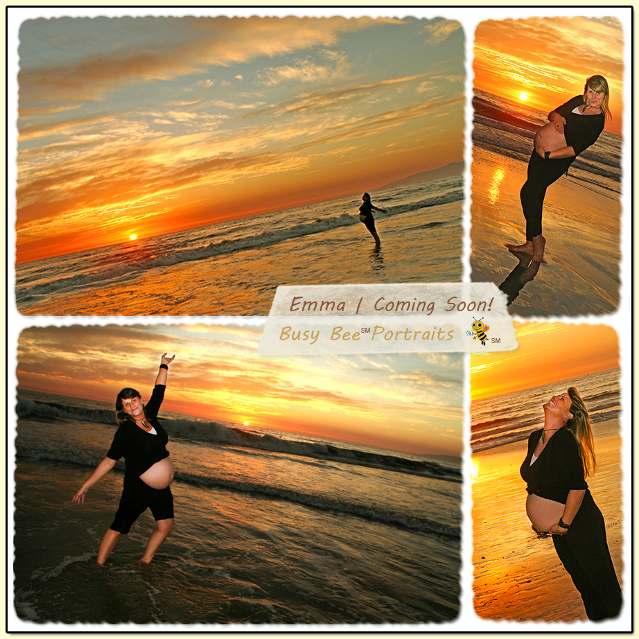 Maternity Photo Session on Venice Beach, CA