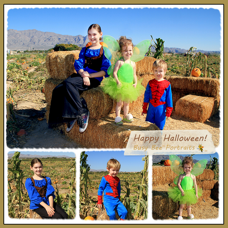 Halloween Photo Shoot Kids