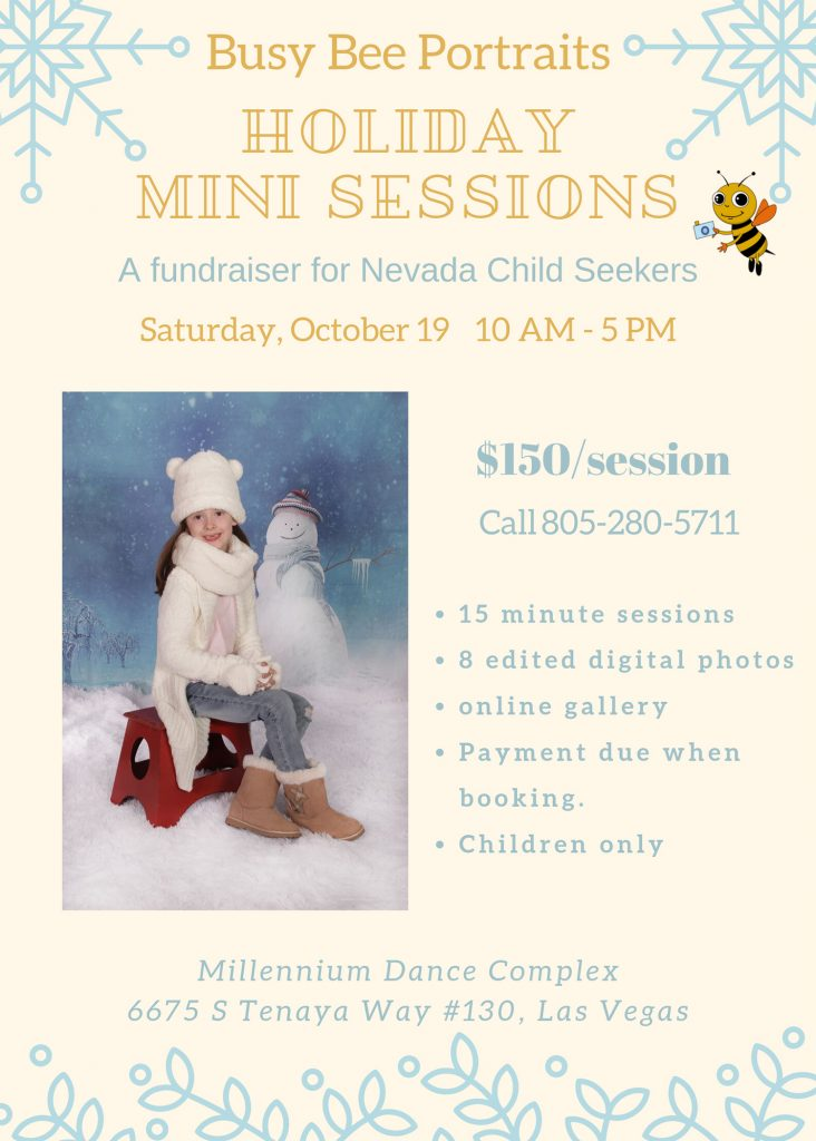 Holiday Mini Session Fund Raiser